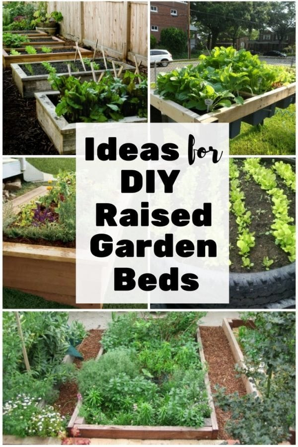 Upgrade your garden with these lovely DIY raised garden bed ideas. They are easy to make, made from recyclable materials and beautiful to look at.