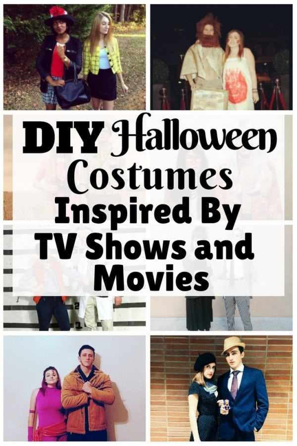 These amazing, inexpensive DIY costumes will spice up the Halloween. They are inspired by your well-loved characters from TV shows and movies.
