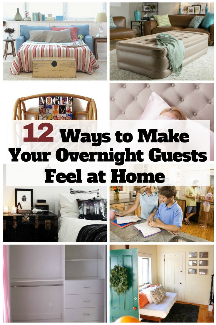 Making your guests feel at home when they plan to overnight is one of the satisfying moments as homeowner. Read these tips on how to do it.