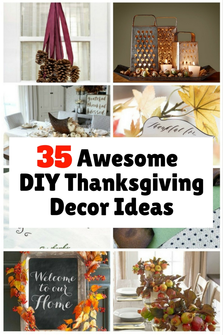 Thanksgiving Day is just a few weeks away. Prepare your home with these awesome DIY decor ideas that will surely set the festive mood.