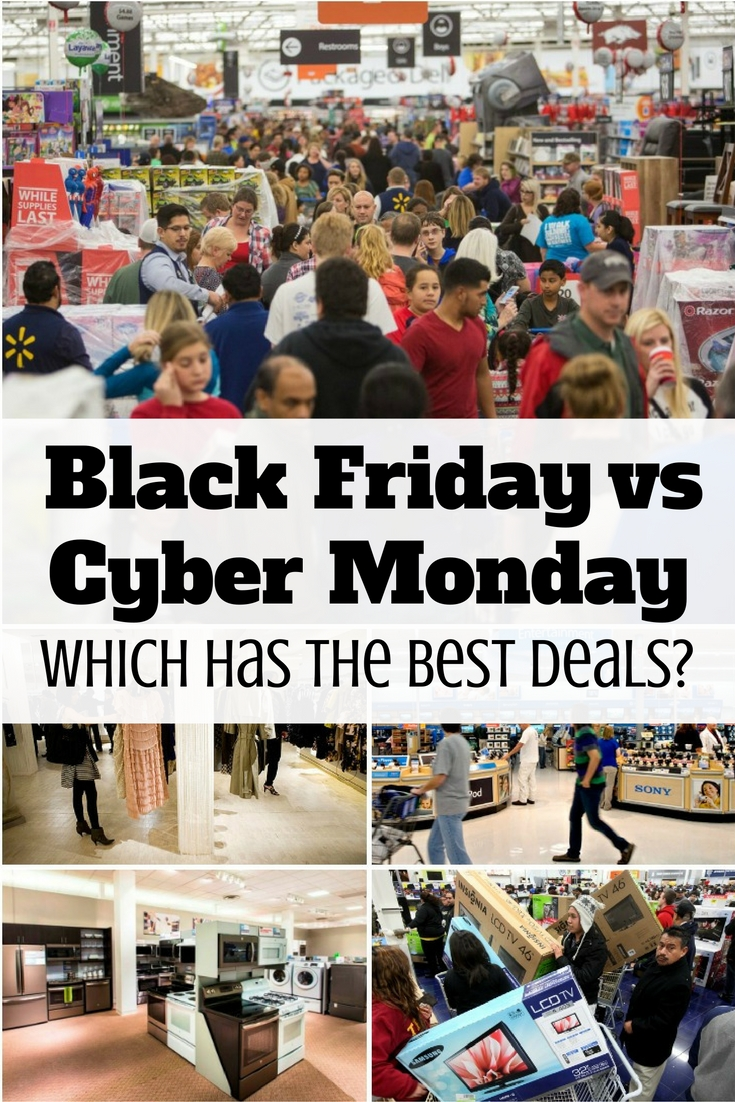 Black Friday or Cyber Monday? Which offers the best deals? This article has a few tips which day to choose for great deals.