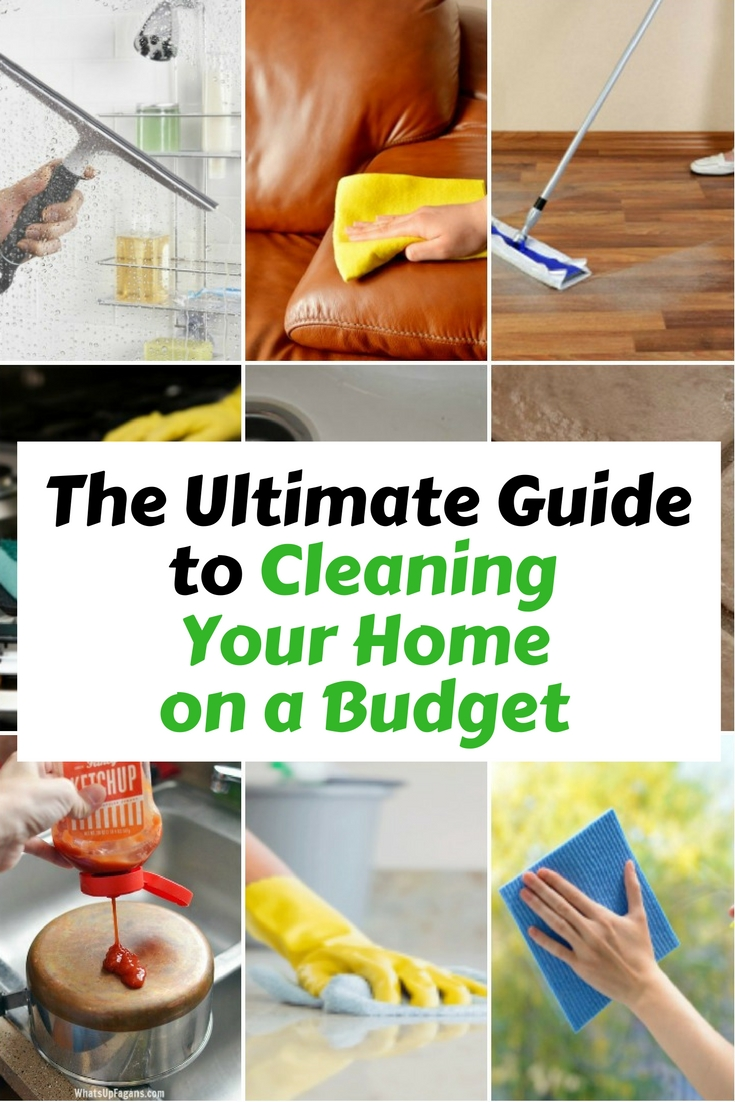 Stop using those cleaning solutions full of chemicals, turn to natural ingredients. Not only they are inexpensive but also have lasting effects.