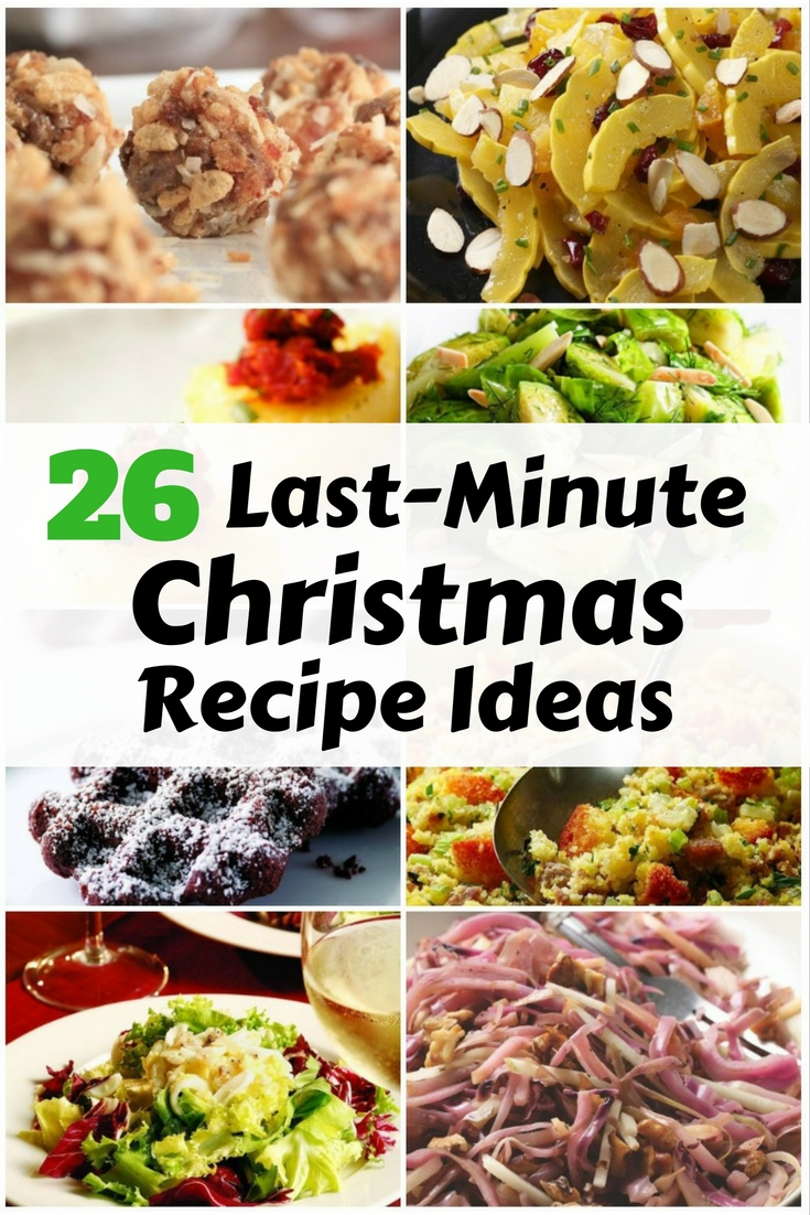 Try these last-minute Christmas recipe ideas that you can prepare for 30 minutes. Family and friends will surely love you for it.