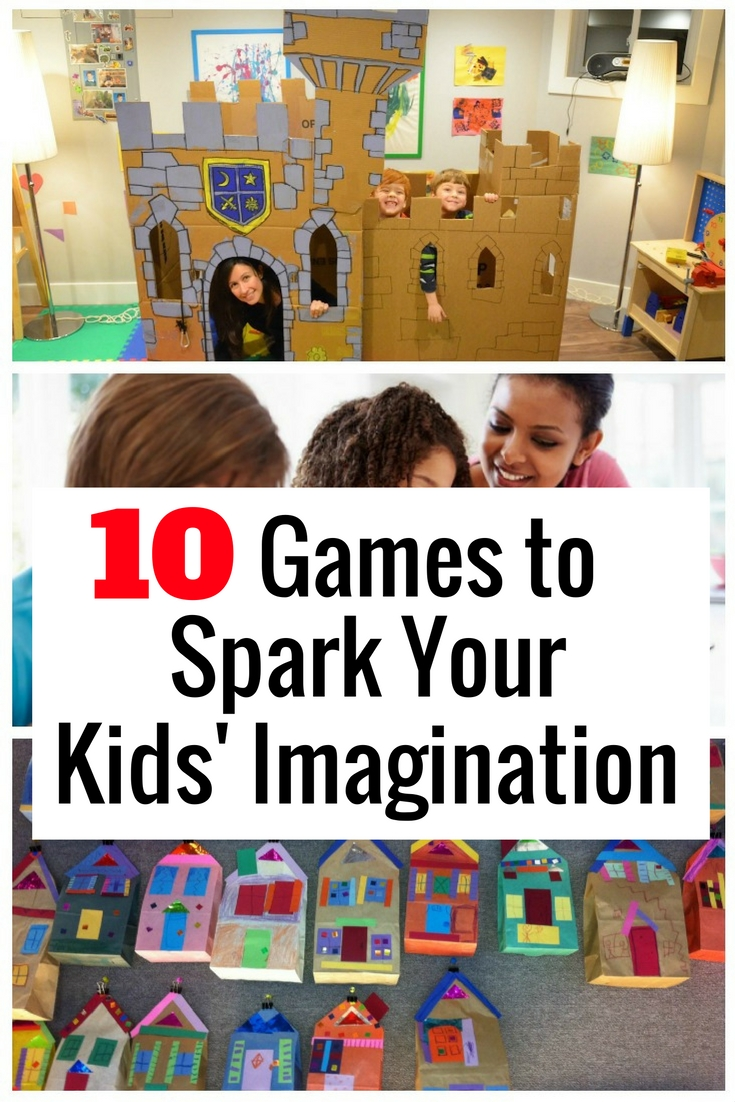 Spark your children's creativity with these amazing games. You will have a lot of fun, learning and bonding time.