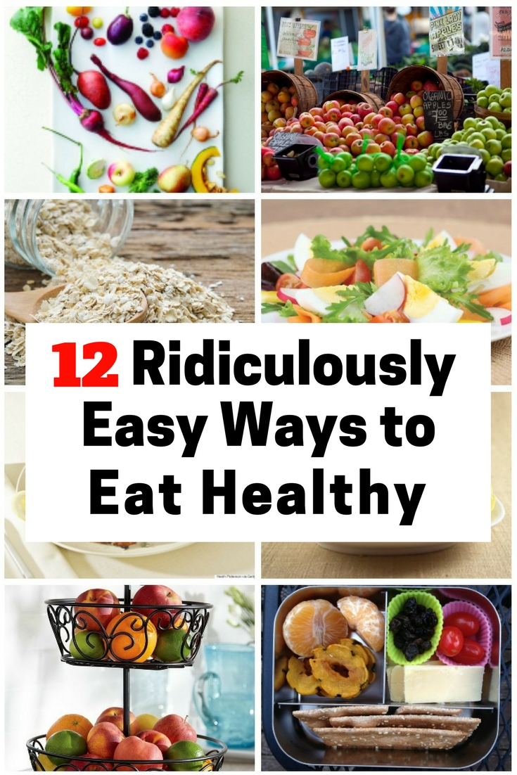 To eat and stay healthy is very important and it usually starts with the food we eat. Have these steps to eat healthy.