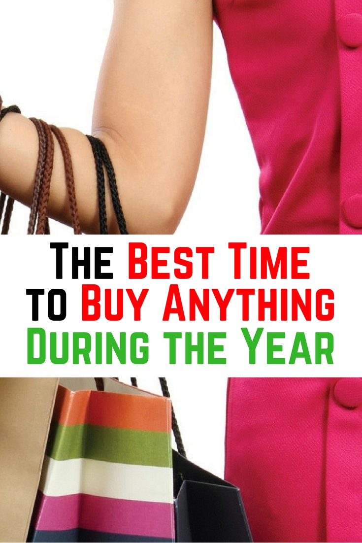 You don't have to wait for holidays to get the best items, read this and find out when to have the best deals of the year.