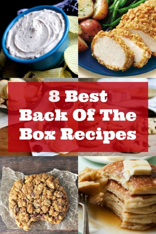 Try these quick and delicious back of the box recipes from your favorite brands.