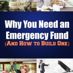 Having an emergency fund is a must if you are going on a budget diet.