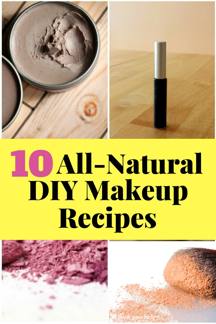 Being beautiful doesn't have to be expensive. Try these DIY makeup recipes that will surely save you a few bucks.