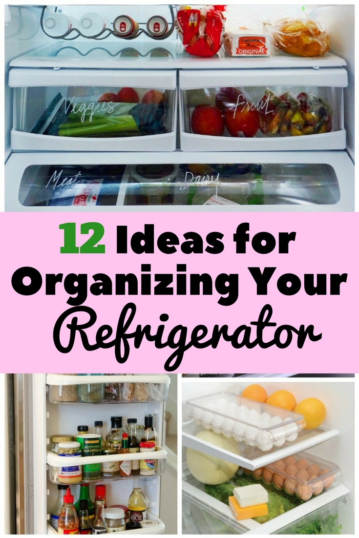 Keep your refrigerator neat and organized with these useful tips.