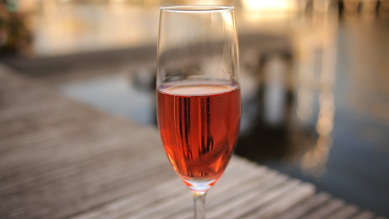 Make your Valentine's day sweeter with rose wine both of you will love.