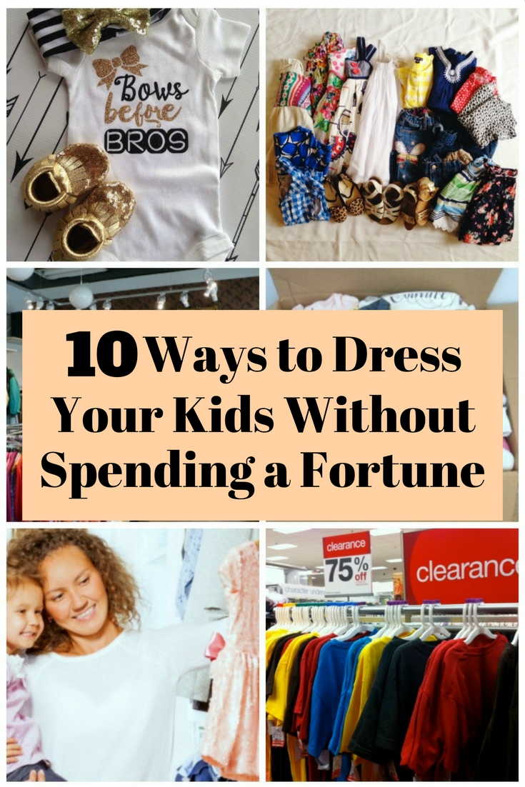 Buying clothes for your little ones should not be expensive. Read and find the ways on how to have new kids' clothes without breaking your bank.