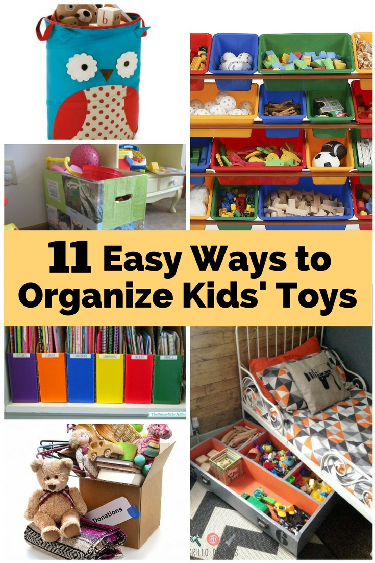 Don't let your kids' clutter overwhelm you! Here are clever ways to tame the clutter.