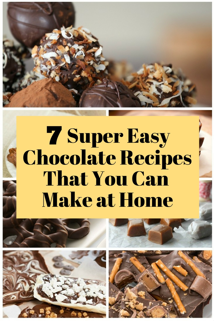 8 Super Easy Chocolate Recipes That You Can Make at Home - The