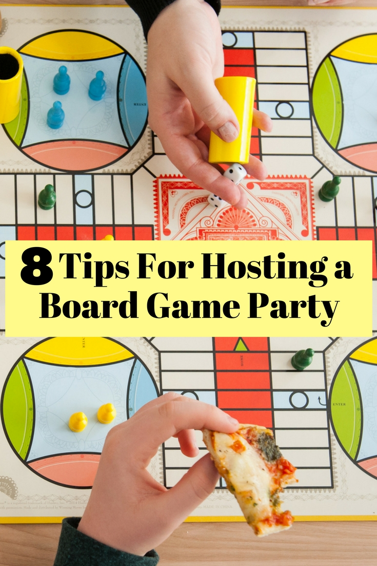 Hosting a board game party is fun but exhausting. Read these tips on how to enjoy as a host and for your pals to have some fun.