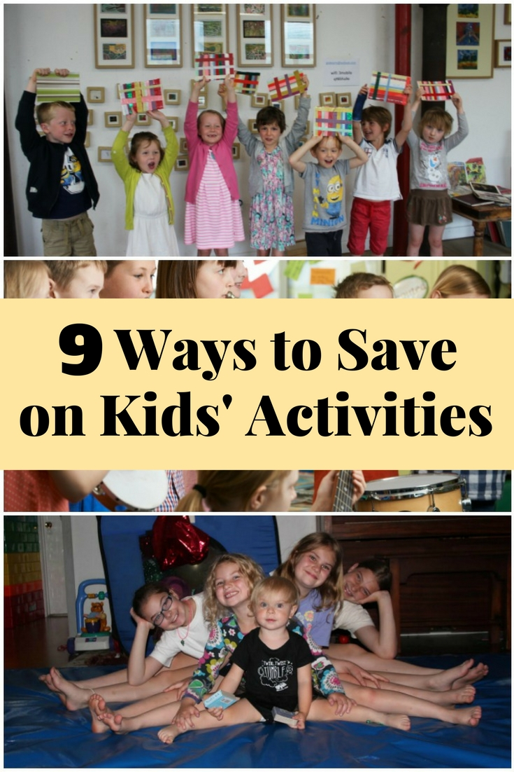 Here are clever ideas for kids' activities that will not burn a hole in your pocket.