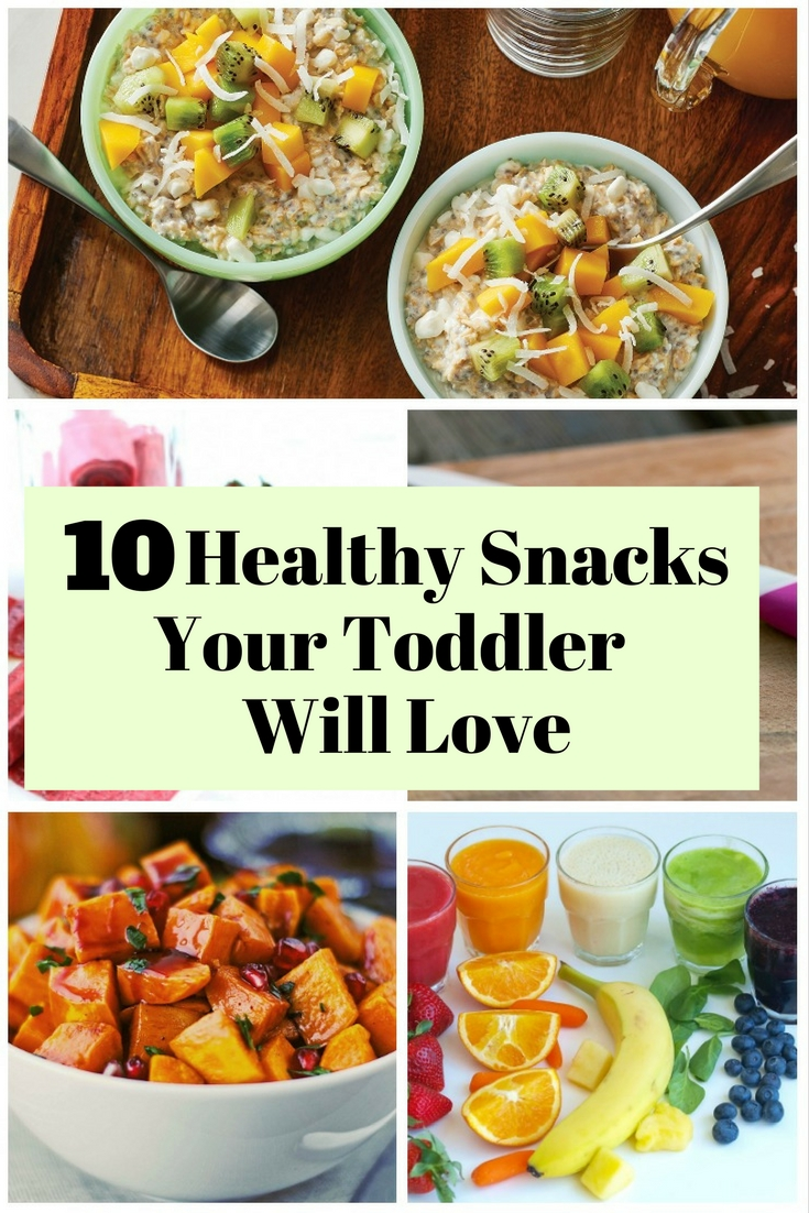 Toddlers love to eat and you can make them their snacks delicious with these 10 tasty ideas that are not only easy to prepare but also hearty.