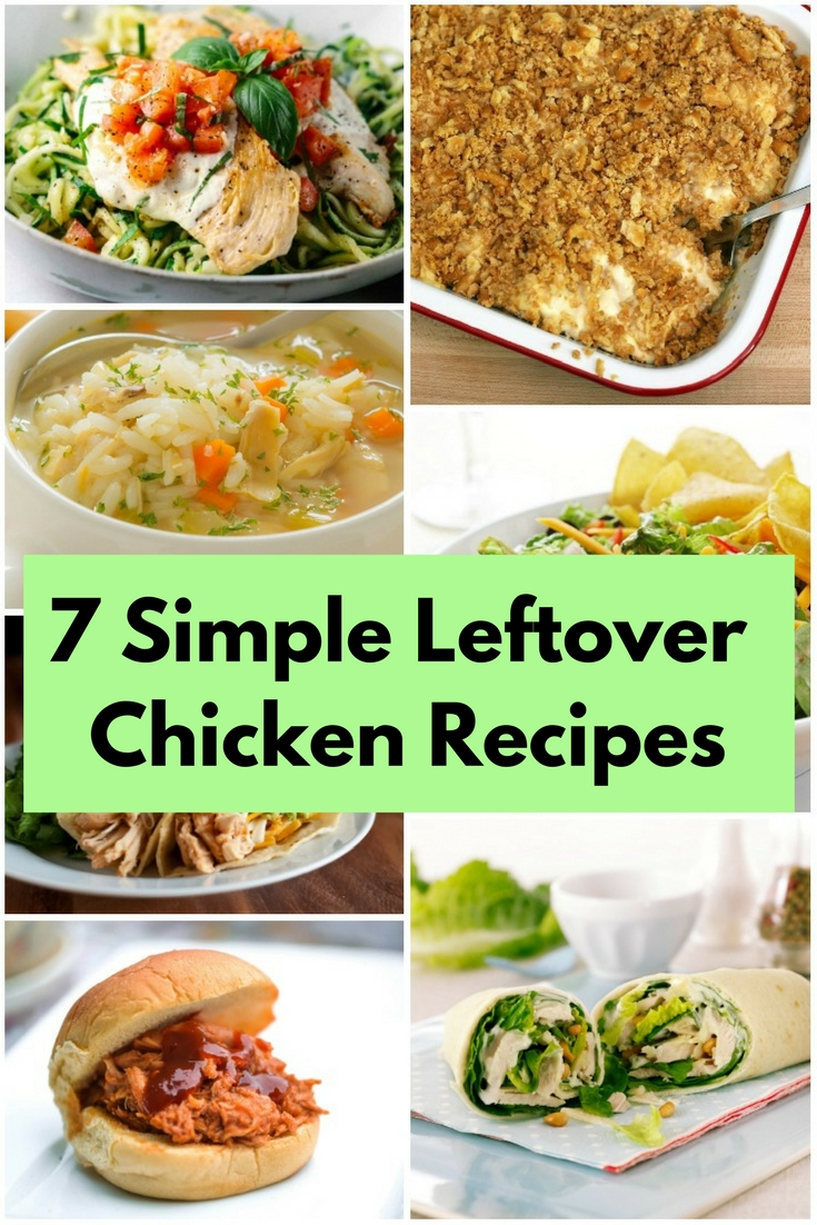 Had a big party last night and you don't know what to do with chicken leftover? Here are some tasty recipes that will definitely save those chickens.