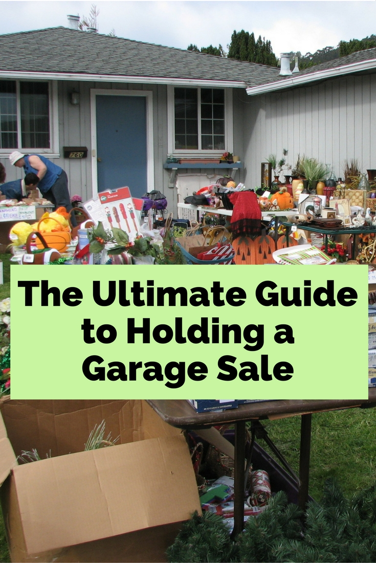 Planning a garage sale? Here are some tips on how to not get wrong with your yard sale.