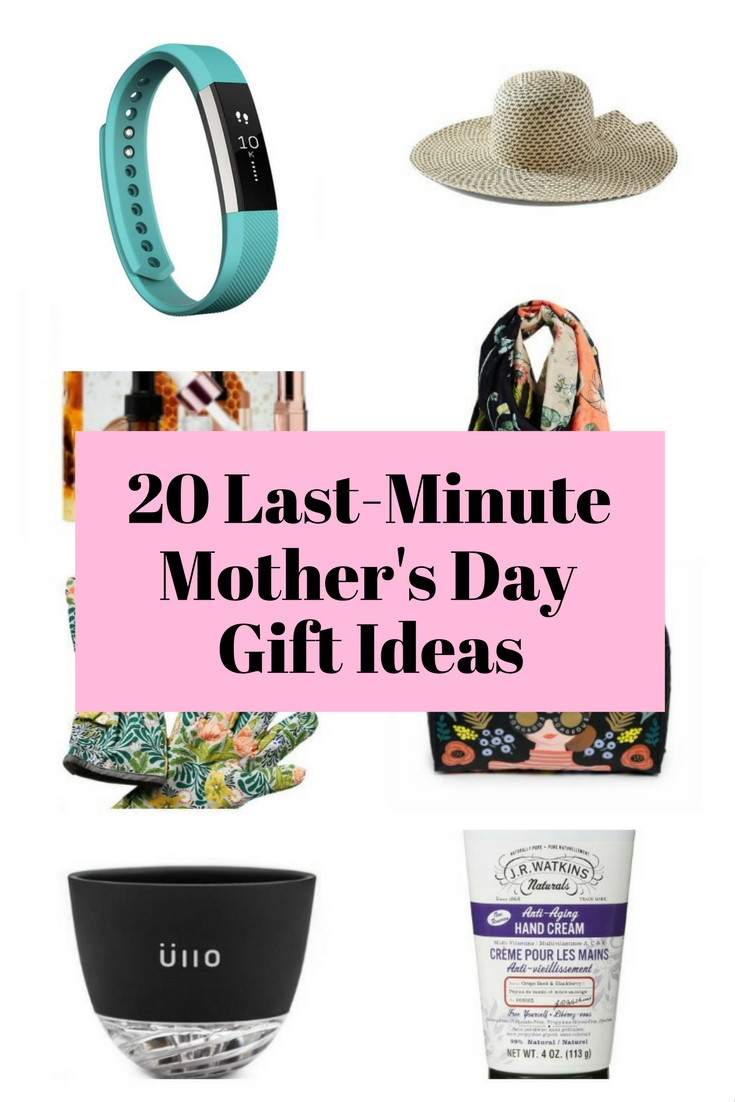 Make this Mother's Day extra special for your Mom with these last-minute gift ideas. Your Mom will surely love it!