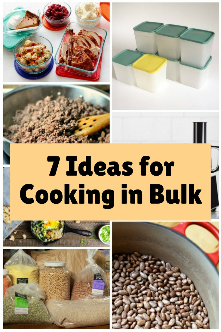 Cooking in bulk is an easy way to save money and time. You have to consider these tips if you are interested cooking in bulk.