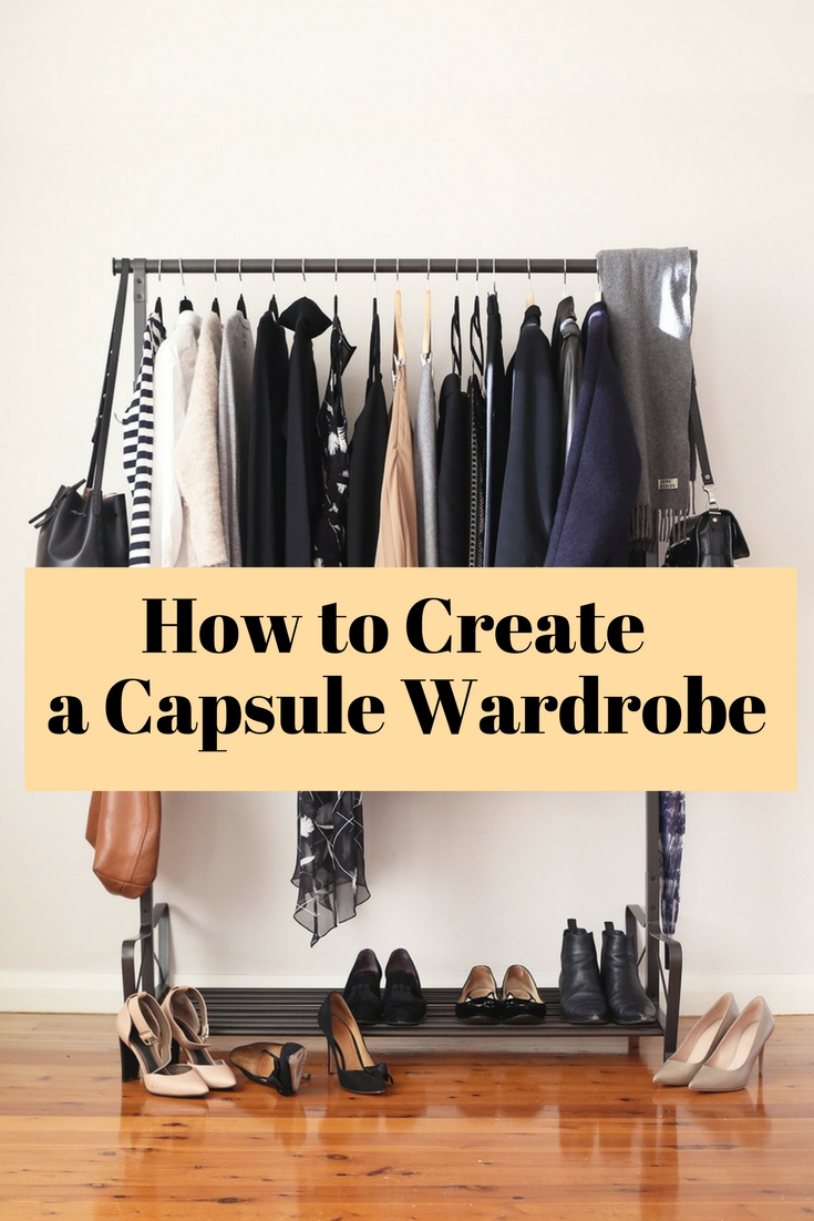 Get everything organized with capsule wardrobe. It lets you organize clothes, save money and less hassle for you in the morning.
