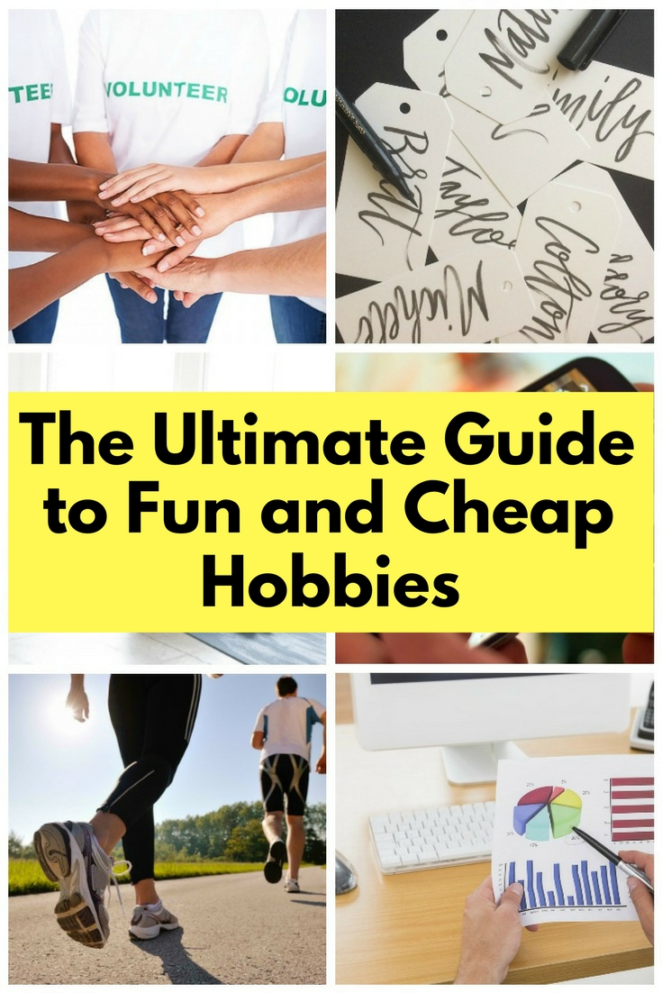 There are plenty of hobbies to choose from and they don't have to be expensive. You can help yourself or others with these new-found hobbies.