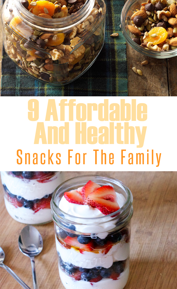 9 Affordable And Healthy Snacks For The Family
