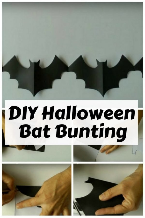Add Batman to your walls with this Halloween DIY bat garland . With a pattern and some basic materials, you can make one on your own.