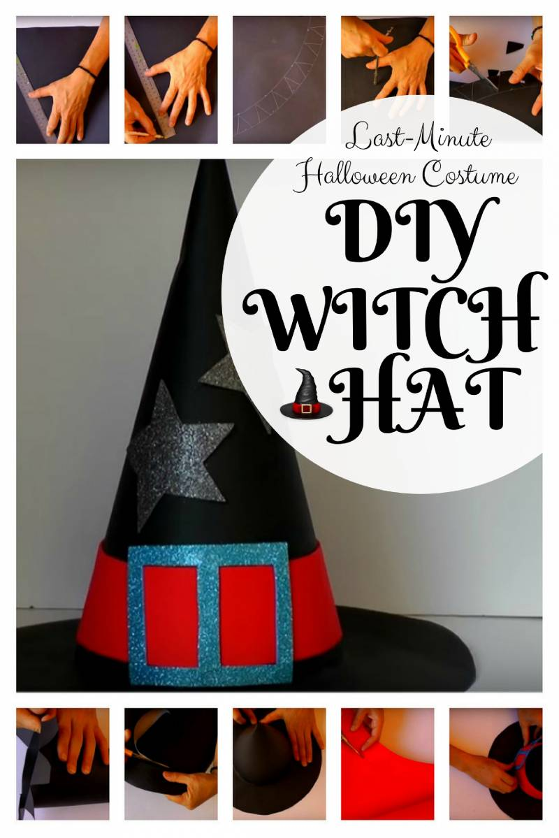 Last-Minute Halloween Costume: DIY Witch Hat - The Budget Diet