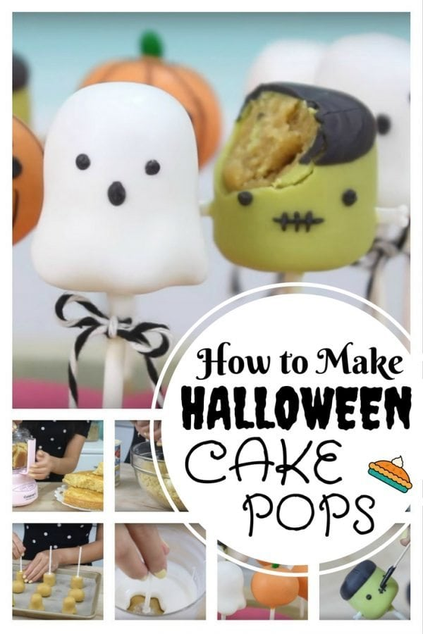 Adorable DIY Halloween cake pops that you can make at home. This requires a bit of creativity but still fun to do.