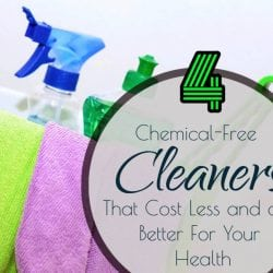 4 Chemical-Free Cleaners That Cost Less and are Better For You