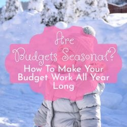 Are Budgets Seasonal? How To Make Your Budget Work All Year Long