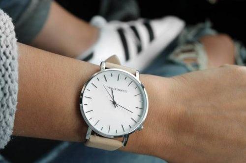 watch wearing woman