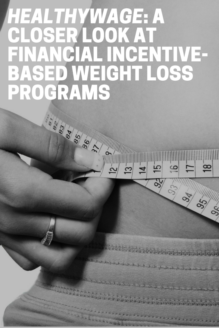 healthywage financial incentive-based weight loss