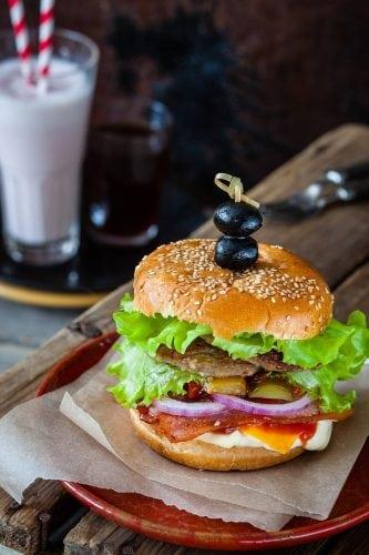 hamburger beef