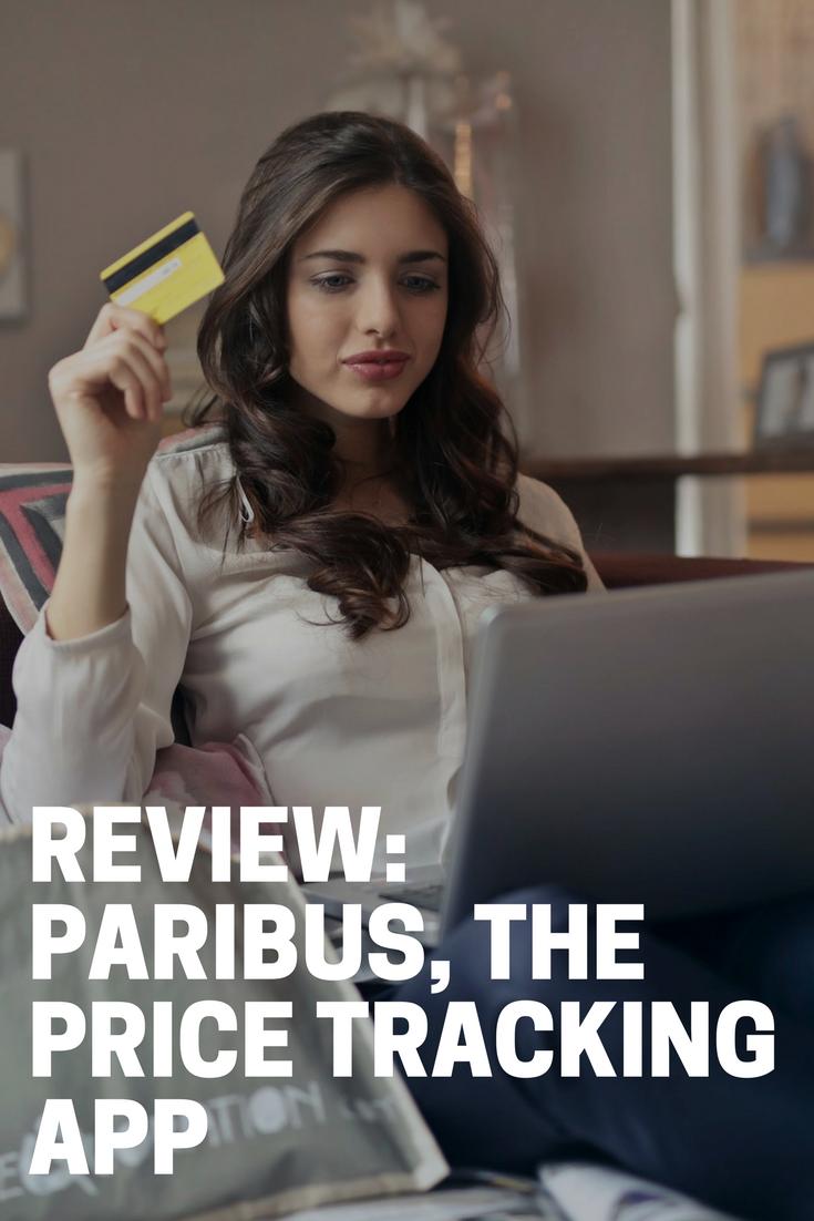 Review: Paribus, the Price Tracking App