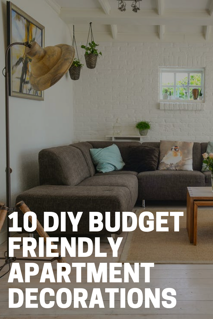 10 Diy Budget Friendly Apartment Decorations The Budget Diet
