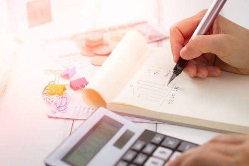 tax money writing calculator