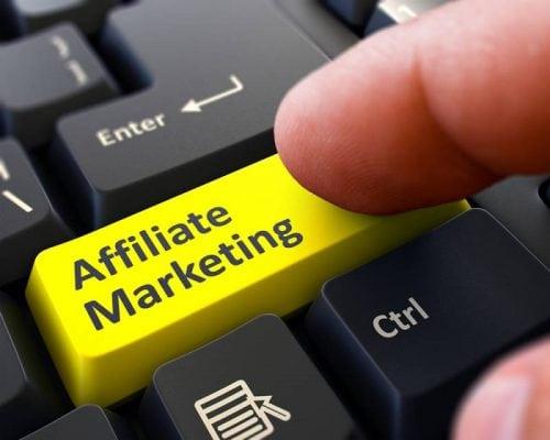 Affiliate Marketing Keyboard Image