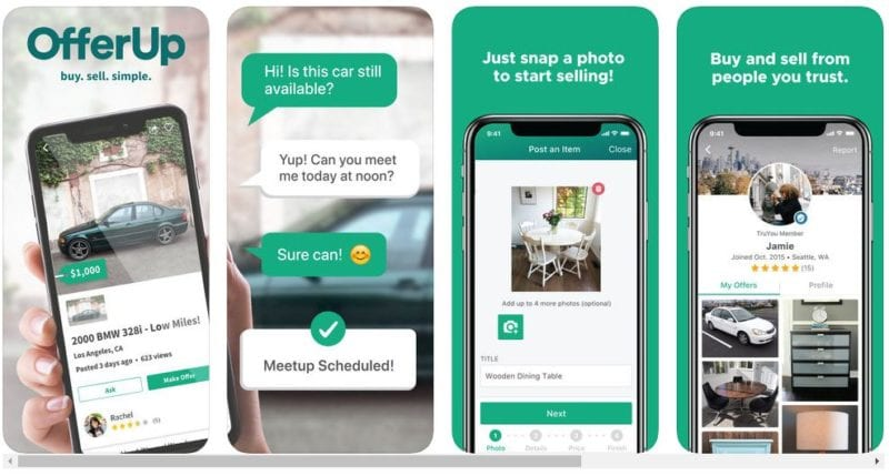 Apps Like Letgo - OfferUp