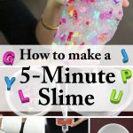 Homemade 5-Minute DIY Slime: Entertain Your Kids for Hours