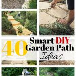 40 Smart DIY Garden Path Ideas