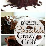 How to Make Chocolate Crazy Cake – No Eggs, Milk, Butter or Bowls