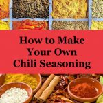 Chili Seasoning Recipe